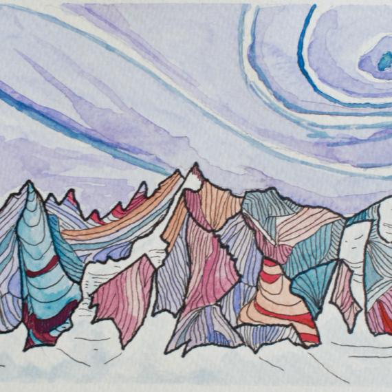 colormountainart, montañas, pinturas, color, mountain, cuadros, cuadros de montaña, cuadros,nature, naturaleza, escalada, galayos, benasque, pirineos, acuarela, arte, alpinismo, esquí, watercolor, mountainart, mountainlife, mountain, mountaineering, alpinism, alpinist, alps, grimper, randonee, puravida